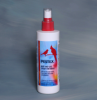 A mite and lice spray safe enough to be applied directly on birds.